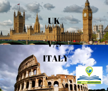 study abroad in UK or Italy